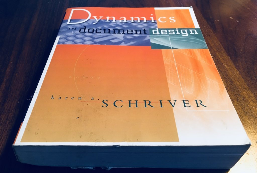 Karen A Schriver, Dynamics in Document